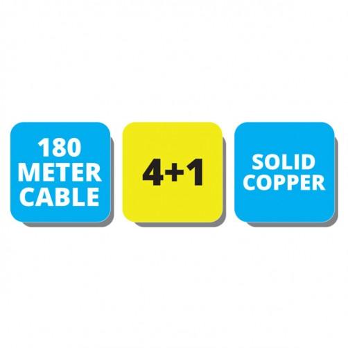 ZEB-C3C1XAB-180M - CCTV Cables