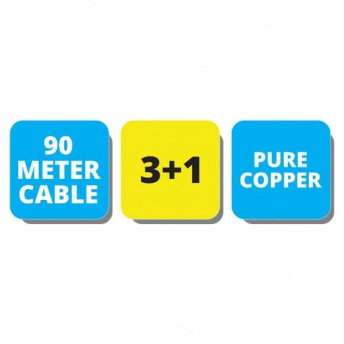 ZEB-C3C1XCB-90M - CCTV Cables