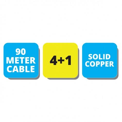 ZEB-C4C1XAB-90M - CCTV Cables