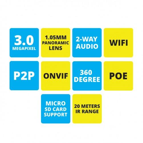 ZEB-FE3MD3L20M - Fhs Eye Camera