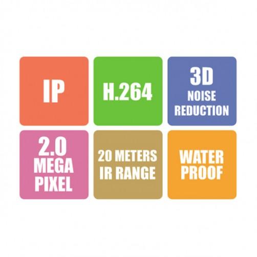 ZEB-IP2MB18L20M - IP Camera