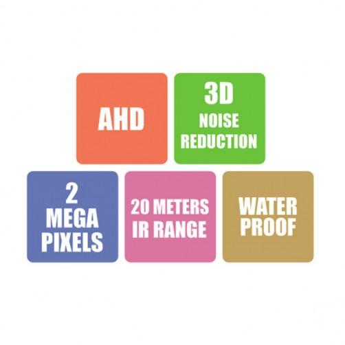 ZEB-AH2MB18L20M - AHD Bullet